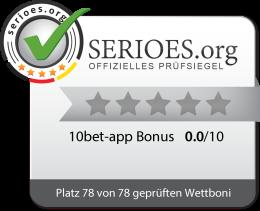 10bet App: Die aktuellsten Tipps vom Experten für 2021 Siegel