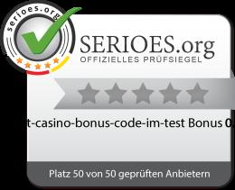 10bet Casino Bonus Code im Test Siegel