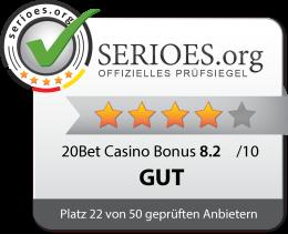 20Bet Casino Siegel