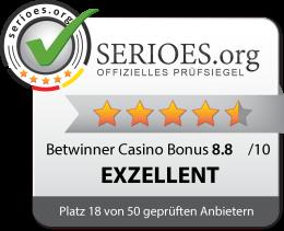 Betwinner Casino Siegel