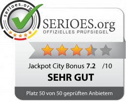Jackpot City Siegel