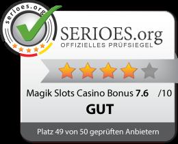 Magik Slots Casino Siegel