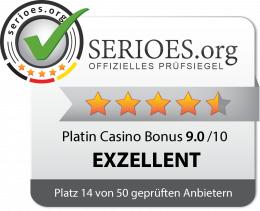 Platin Casino Siegel