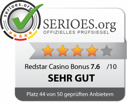 Redstar Casino Siegel