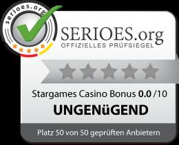 Stargames Casino Siegel