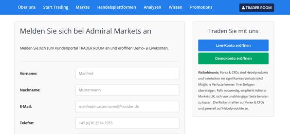 Admiral Markets Bonus Code