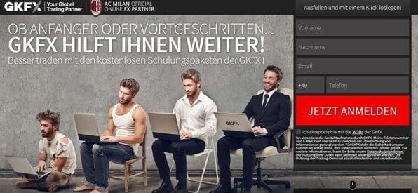 Bester CFD Broker - cfd anbieter GKFX