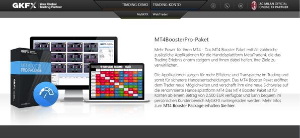 Das MT4BoosterPro-Paket im Überblick