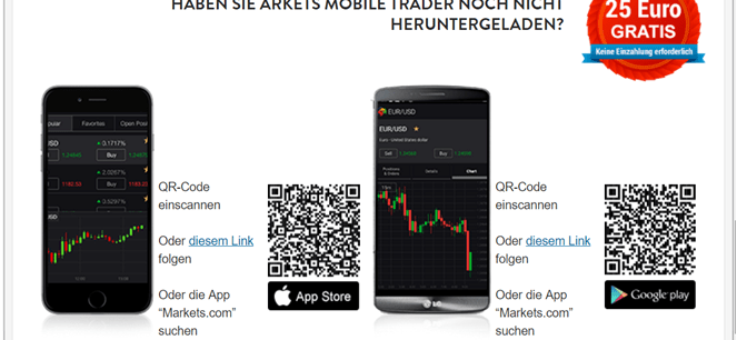 Markets Mobile Trader