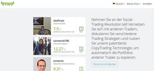 Trading-Netzwerk für alle