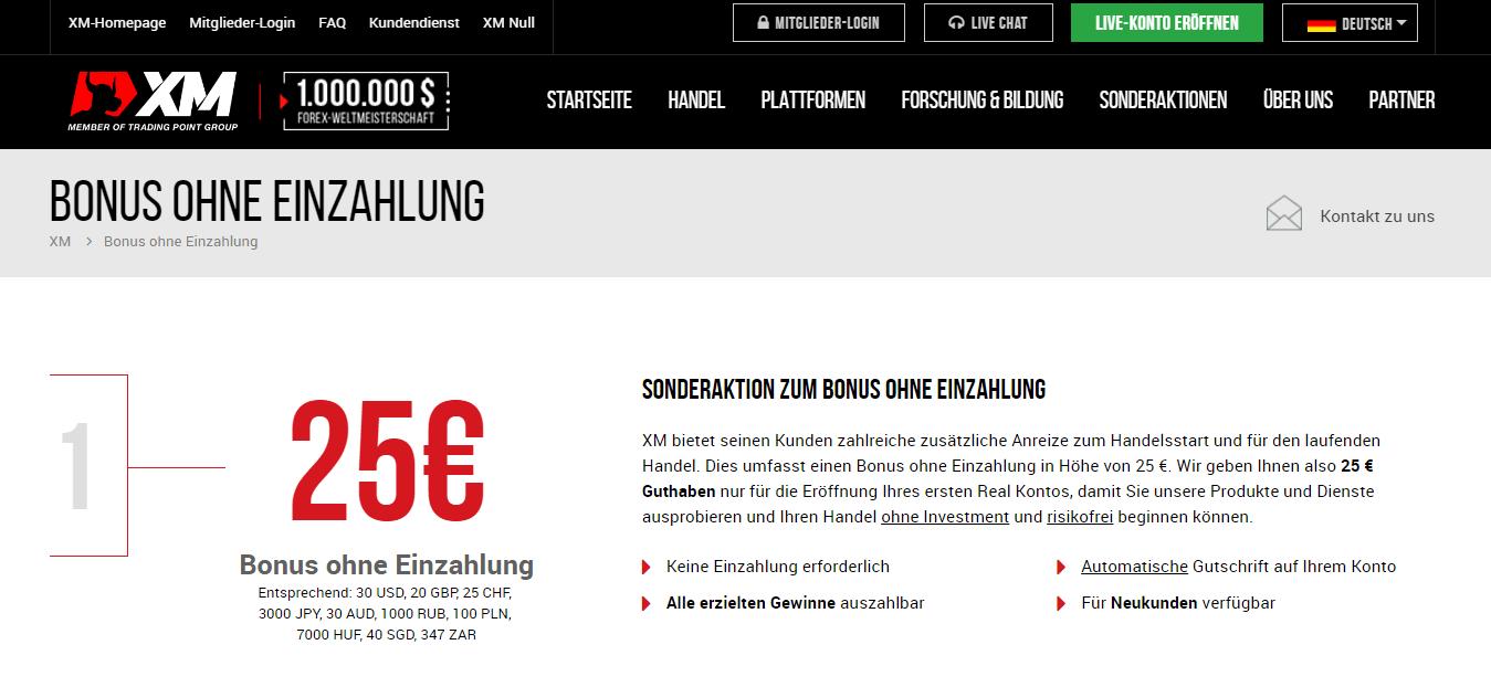XM.com No-Deposit-Bonus