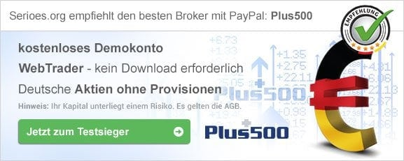 Bester CFD Anbieter mit PayPal