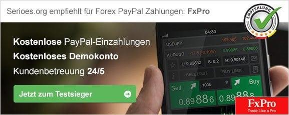 Forex mit PayPal Empfehlung