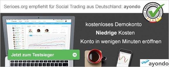 Social Trading Deutschland Empfehlung