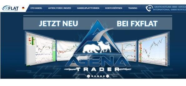 Screenshot Kontoeröffnung Broker FXFlat