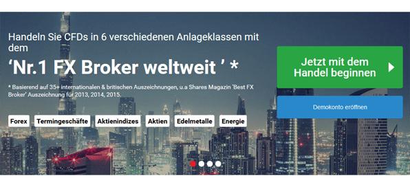 FxPro Erfahrungen Demokonto Anmeldung