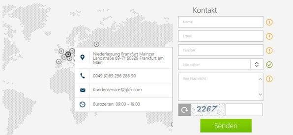 Bester CFD Broker Deutschland ist GKFX