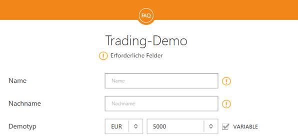 GKFX Trading-Demo Demokonto Anmeldung