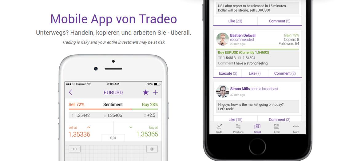 Tradeo Mobile App