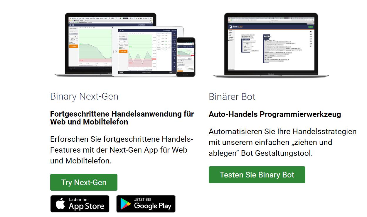 Binary.com Mobile App Next Gen