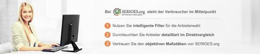 Forex Broker Vergleich von SERIOES.org
