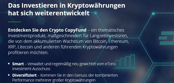 eToro Crypto CopyFunds