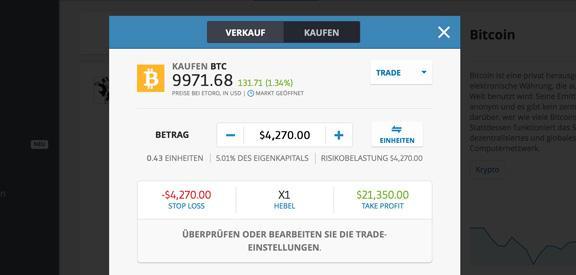 Wetten auf Bitcoins
