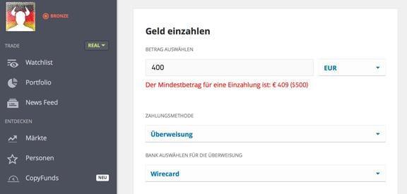 Bitcoin mit Banküberweisung kaufen