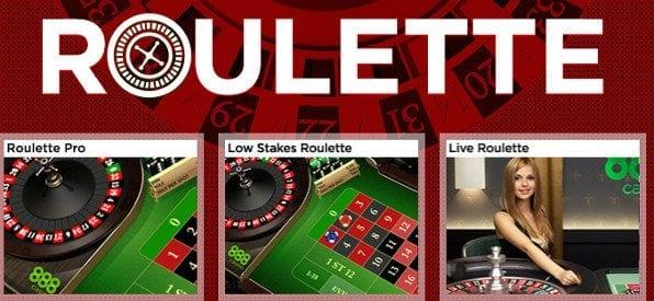 Das Roulette-Tisch-Angebot auf de.888casino.com