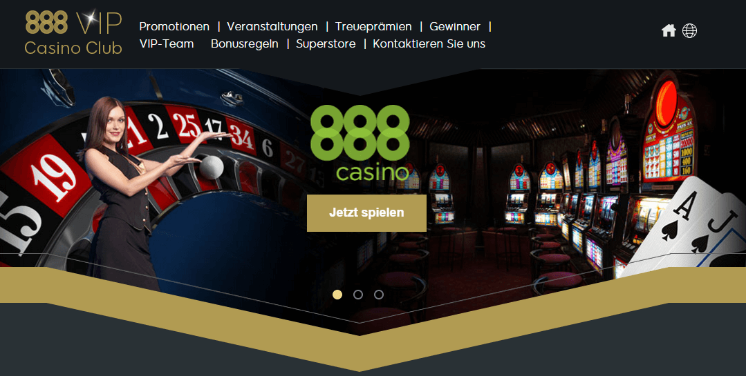 888 Casino Bestandskundenbonus