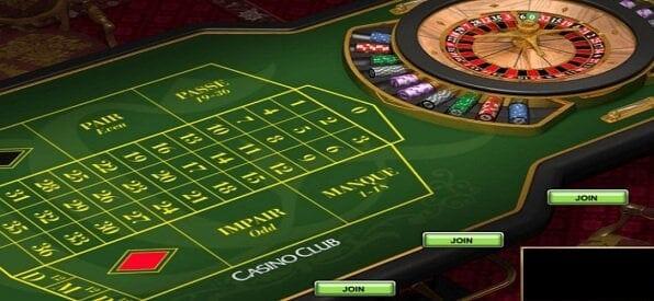 Screenshot Französisches Roulette bei Casino Club