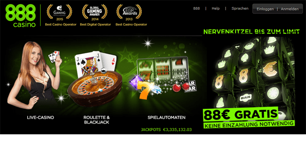 888casino aktionscode