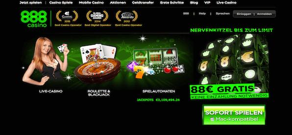 Homepage 888