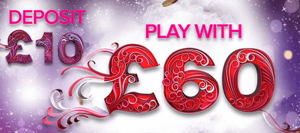 Einen Bonus von 500 % erhalten Neukunden beim Testsieger 888Ladies Bingo
