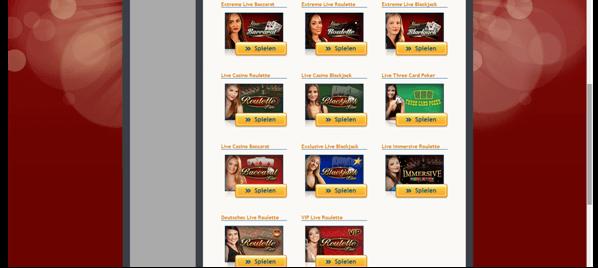 Die Live-Casinos bei StarGames