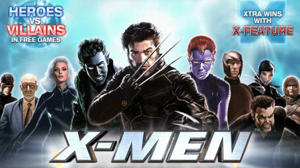 Vielseitiger Franchise Slot: X-Men sorgt für maximalen Spielspaß