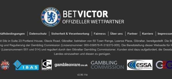 BetVictor Casino Lizenz & Zertifikate auf betvictor.com