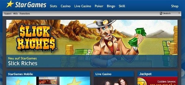 Stargames Casino im Test