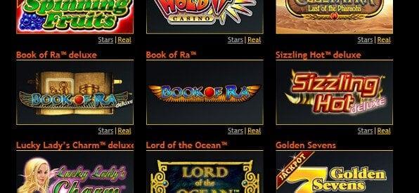 StarGames Casino konzentriert sich auf Automaten & Slots