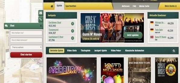 Ob Klassiker oder moderne Spiele – im Cherry Casino kommt jeder auf seine Kosten.