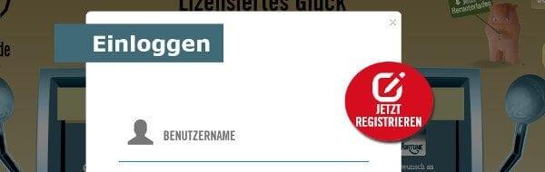 Registrierung auf DrückGlück Casino