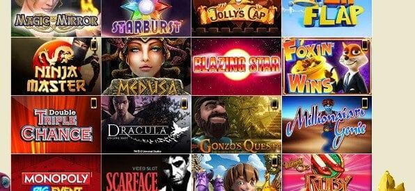 XXL-Slot-Angebot auf der DrückGlück-Casino-Webseite