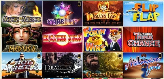 Die Drückglück Slotautomaten-Spiele