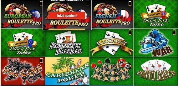 Die Drückglück Kartenspiele