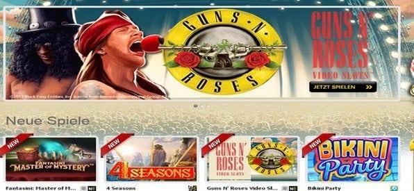 Im Interwetten Casino finden sich auch viele neue Spiele.