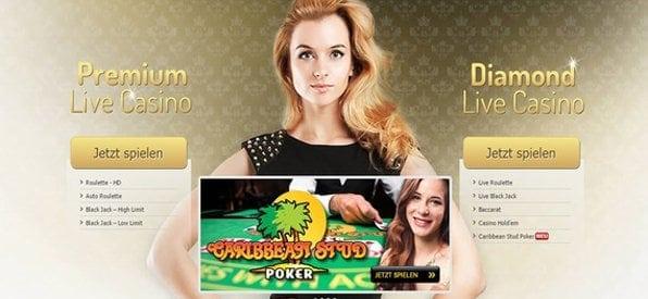 Das Interwetten Live-Casino verdient besonderes Lob.