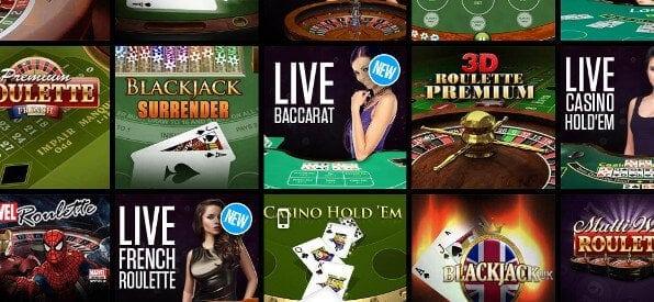 Das Roulette-Tisch-Spiele-Angebot auf casino.ladbrokes.com