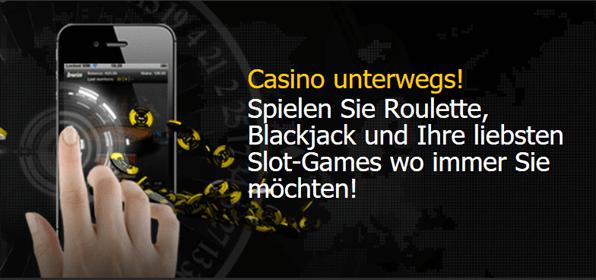 bwin: Casino App verspricht mobilen Spielspaß von unterwegs