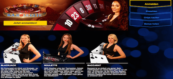Live Dealer Casino bei mybet