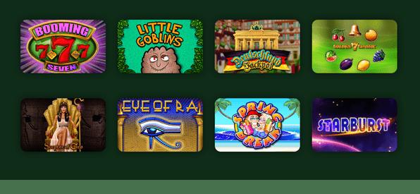 Casinospiele aller Art bei onlinecasino.de